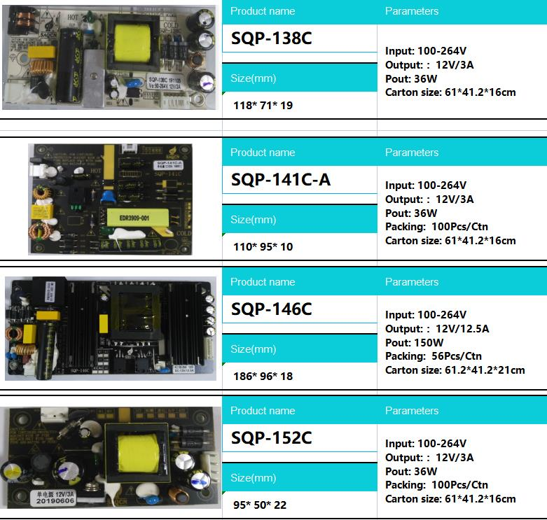 Super thin SMPS 120w 12v 10a Open Frame Power Supply board AC to DC PCBA Mode Single Output Switching Power Supplies