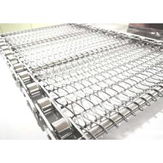 Metal Conveyor Belt Wire Mesh Reinforce Braiding Weaving
