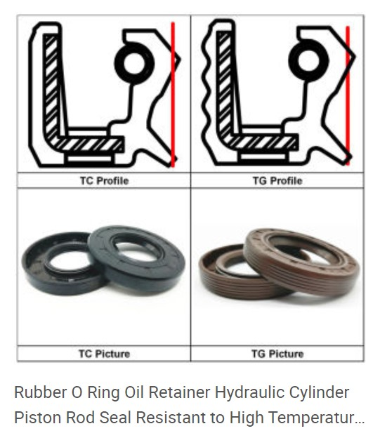 manufacture all of TG oil sealsTC OIL SEALS