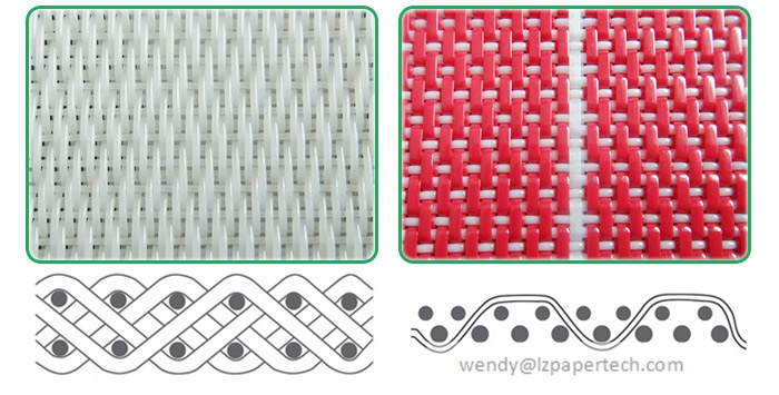 Polyester Spiral Dryer Fabric for Paper Machine Dryer Section