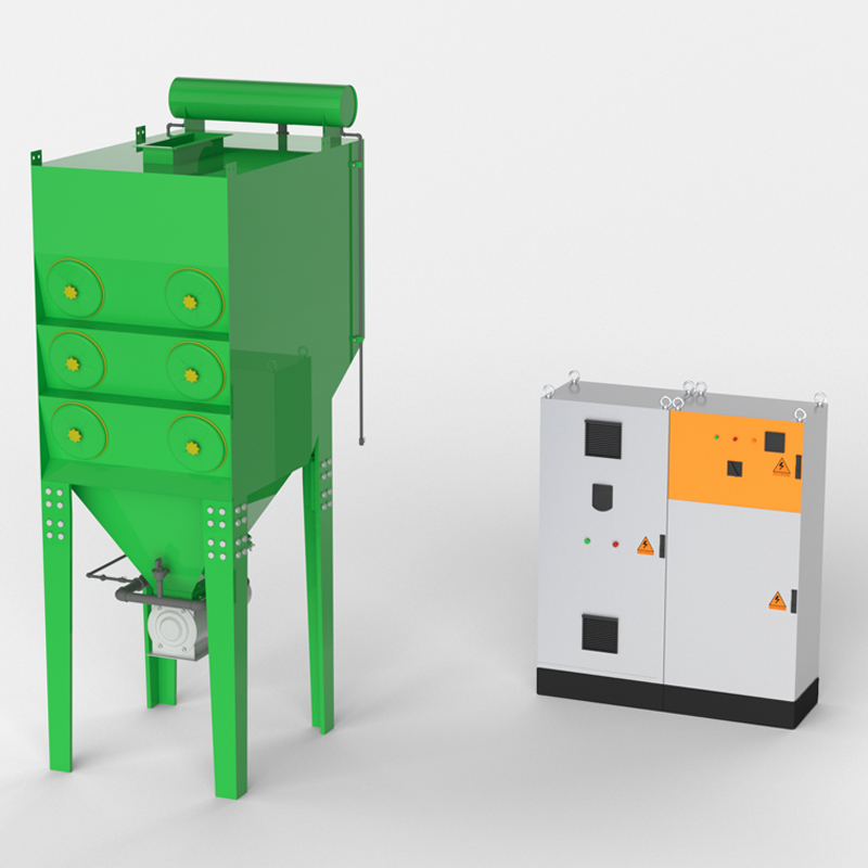 Dust Collector Machine Deduster Industrial Dust Collector Filtration System