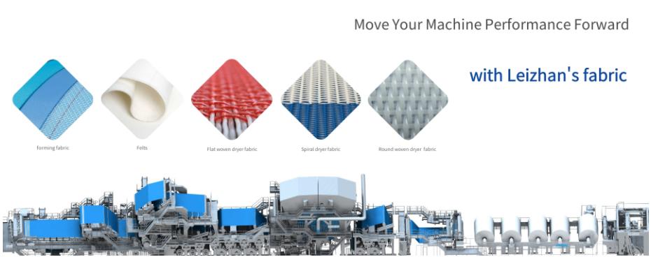 Paper Making Press Felt Fabric for Tissue Paper Machine