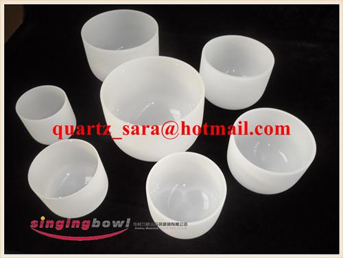Frosted quartz singing bowl wholesale