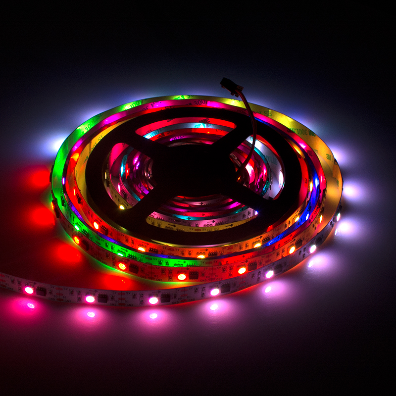 LC8806 rgb flex led strip light WS2811 30 leds per meter for roomPartyBar