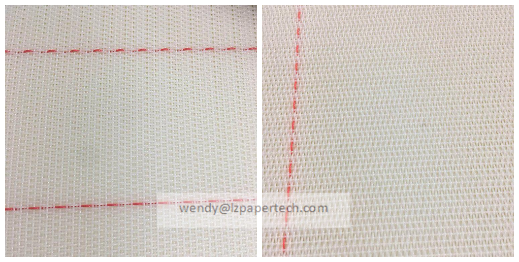 Polyester Woven Round Yarn Dryer FabricMesh for Paper Machine