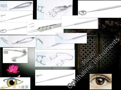 China Ophthalmic Sapphire Knives, Ophthalmic Titanium