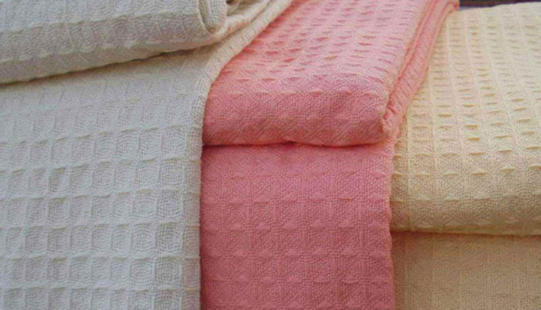100 Cotton Waffle Thermal Blanket From China Manufacturer