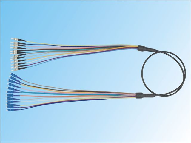 Armored dispatching fiber optic patchcord