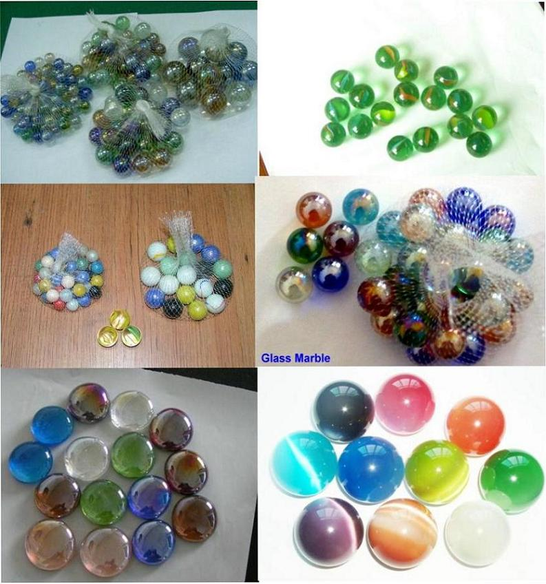 how to make a glass marble ball