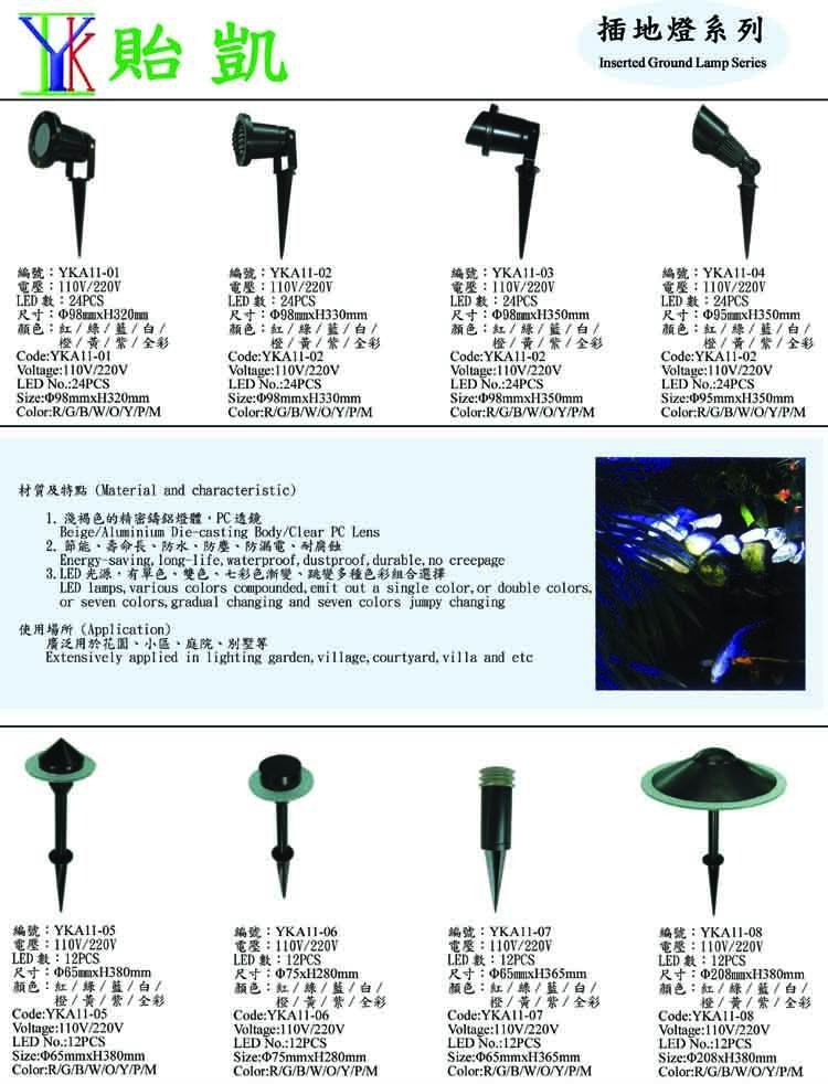 LED Inserted Ground Lamp Series