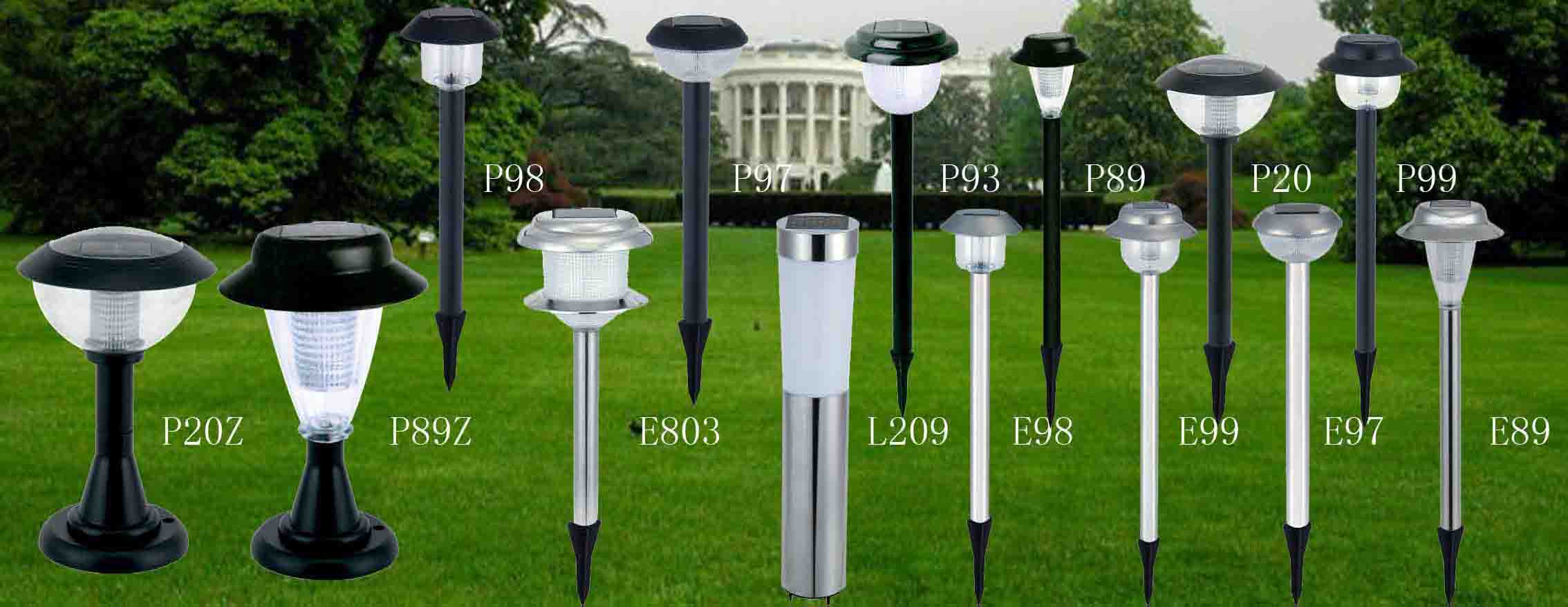 China Manufacturer With Main Products Solar Garden Lights Lawn Emergency Camping Flashlights Searchlights Maintenance Free