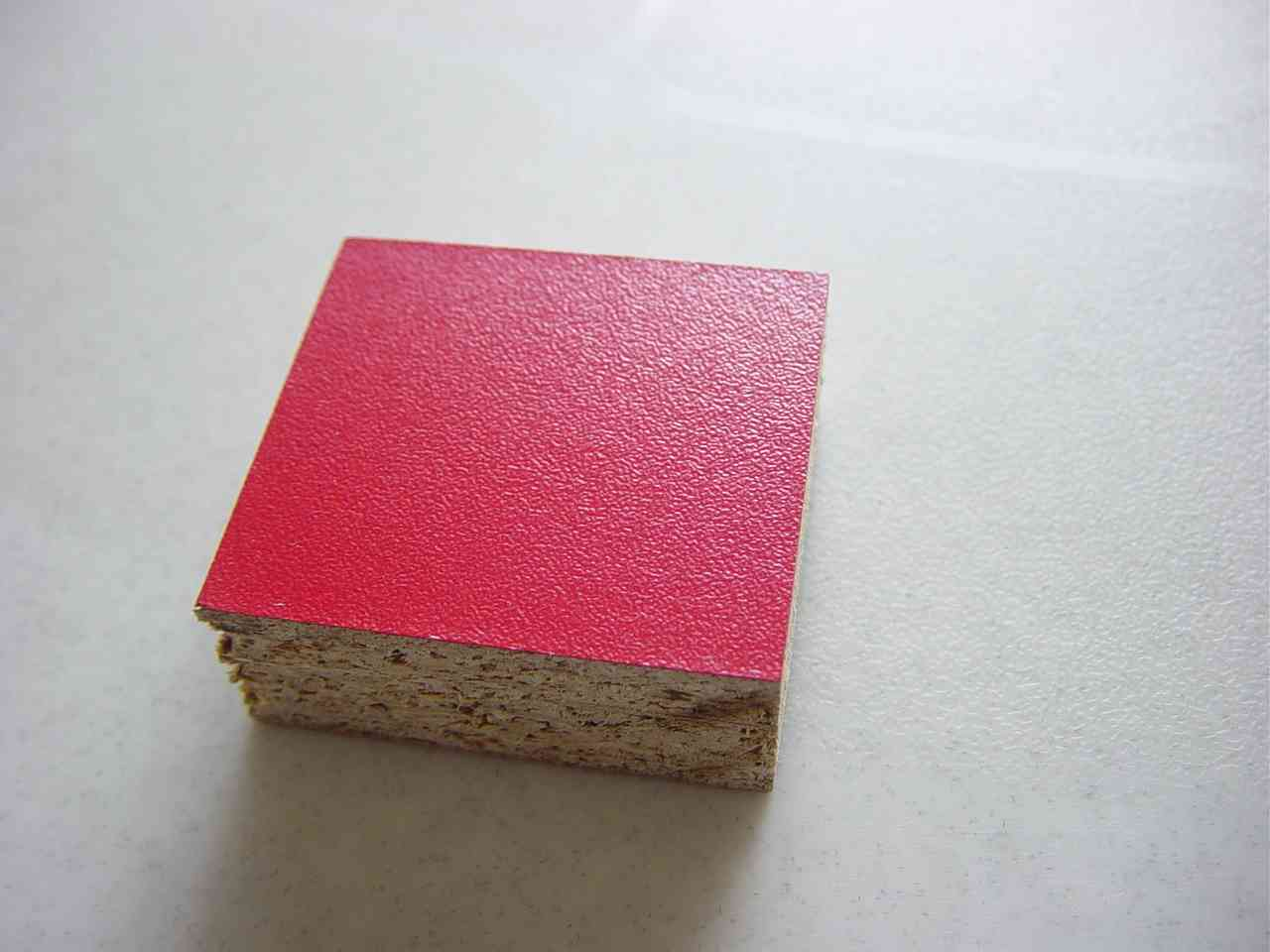 MELAMINED PATICLE BOARD