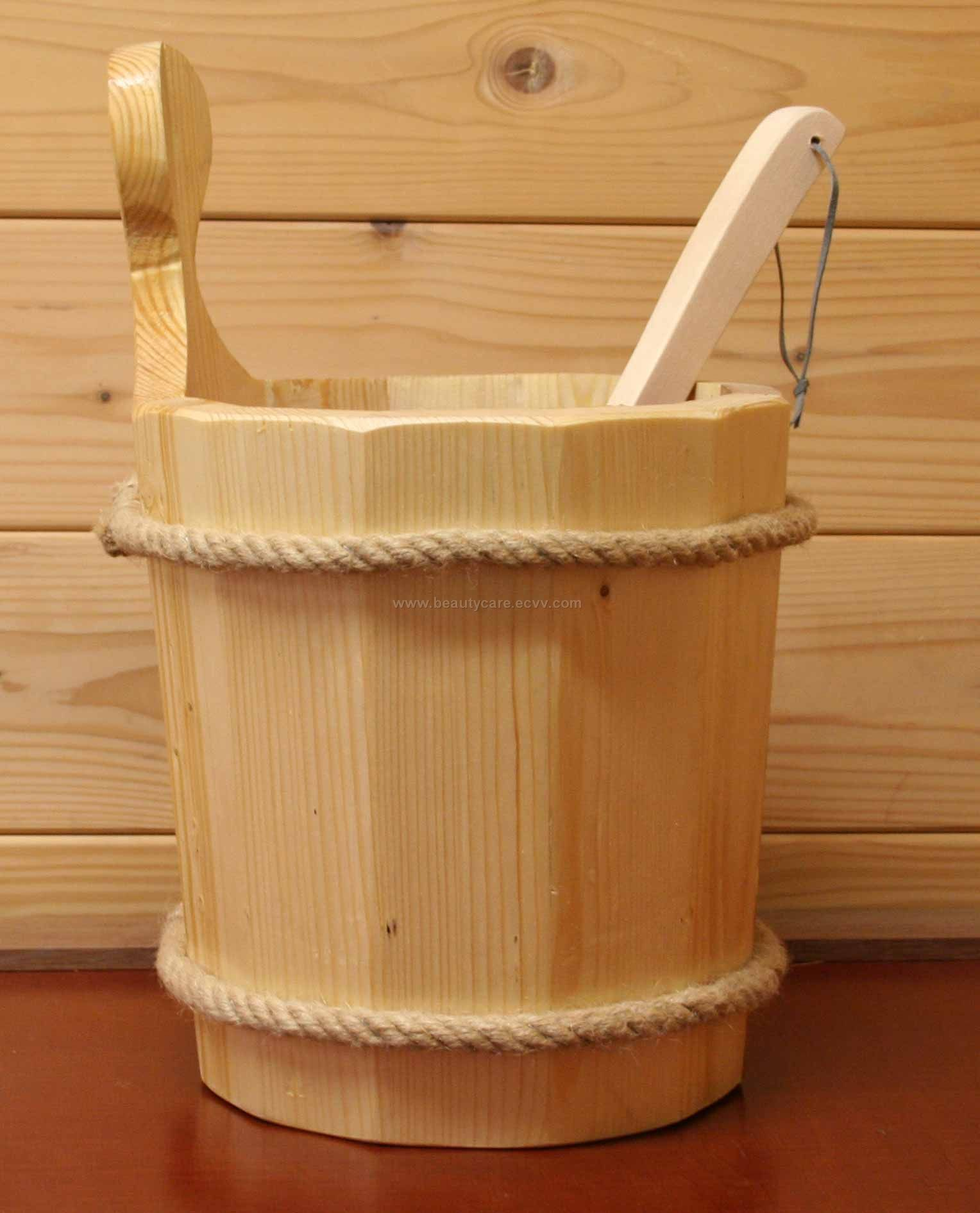 Wooden Bucket for Sauna purchasing, souring agent | ECVV.com ...