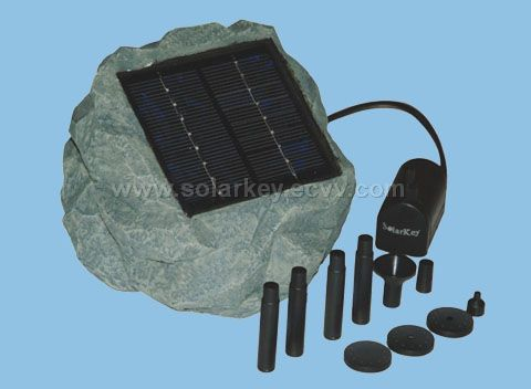 Solarkey SP002 Solar Rock Pump Kit (With Solar Panel)
