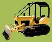 D326TAP crawler tractor with rubber track