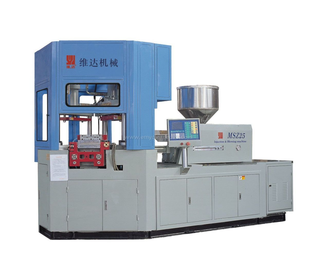 Injection Blow Mould Machine