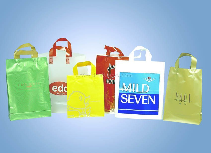 Sell Plastic Bags and Handle Bags, Etc