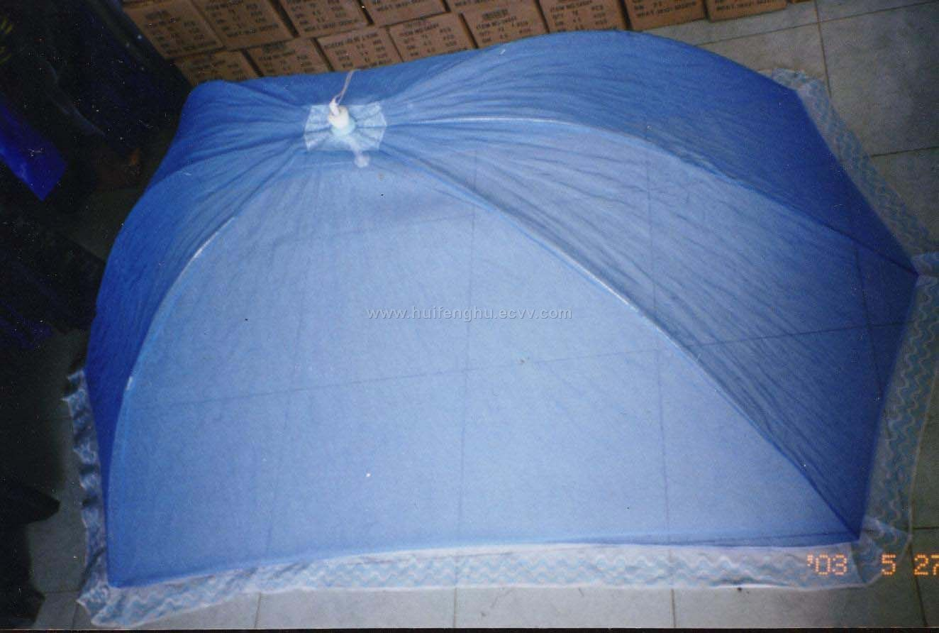 double folding mosquito net.