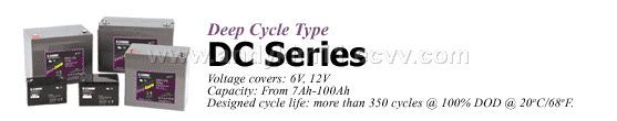 Deep Cycle Type Series batteries