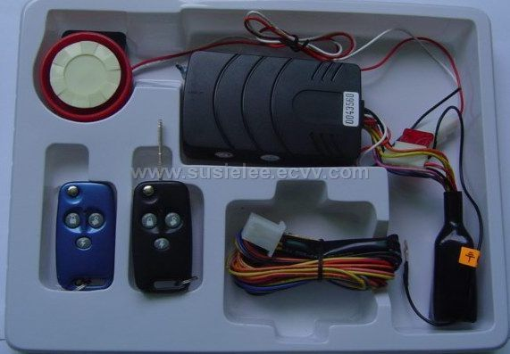 Motorcycle Alarm with Foldable Key On Remote ( MA668K )