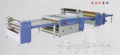 Paper Sticking Machine