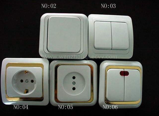 Eurotype Wall Switches and Sockets