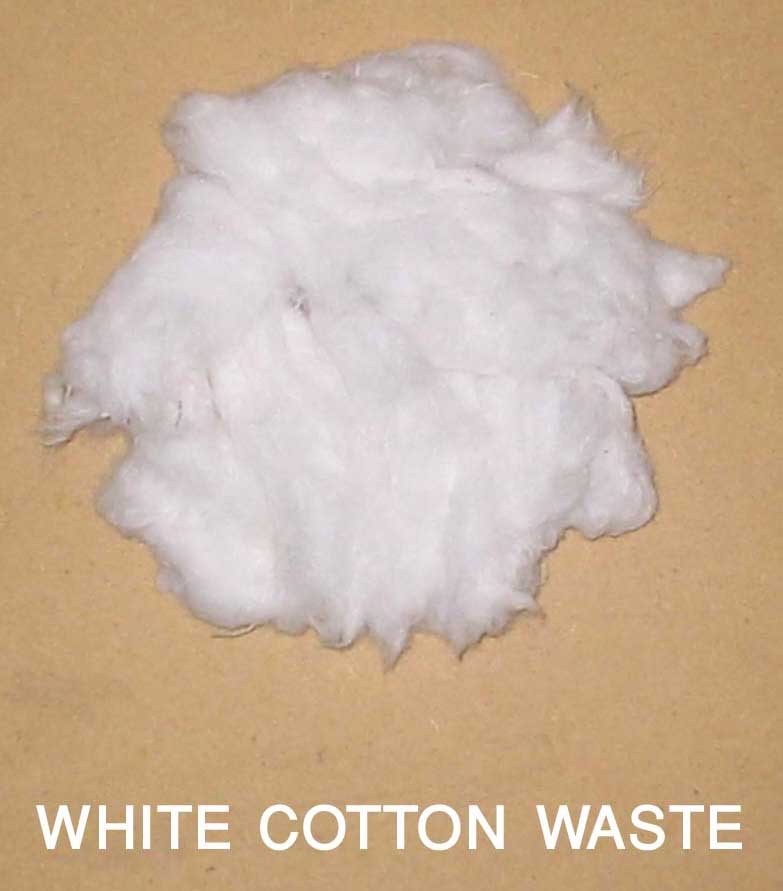 White Cotton Waste