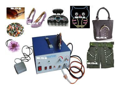 1Ultrasonic Hot-fix Rhinestone setting machine