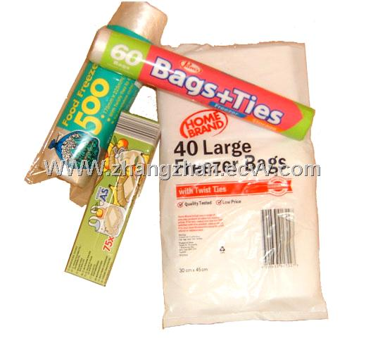 plastic bags,food freezer bags