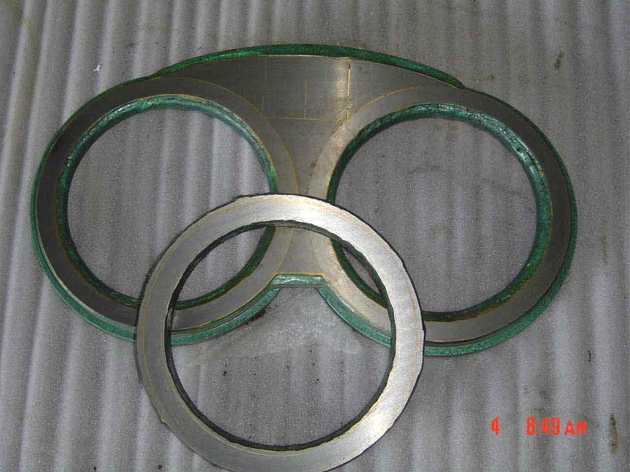 tungsten carbide wear plate and wear ring