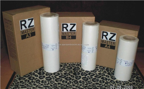 Master Rolls For Riso Rz Machine From India Manufacturer