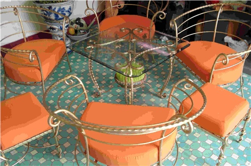 wrought iron table set purchasing, souring agent | ECVV.com ...