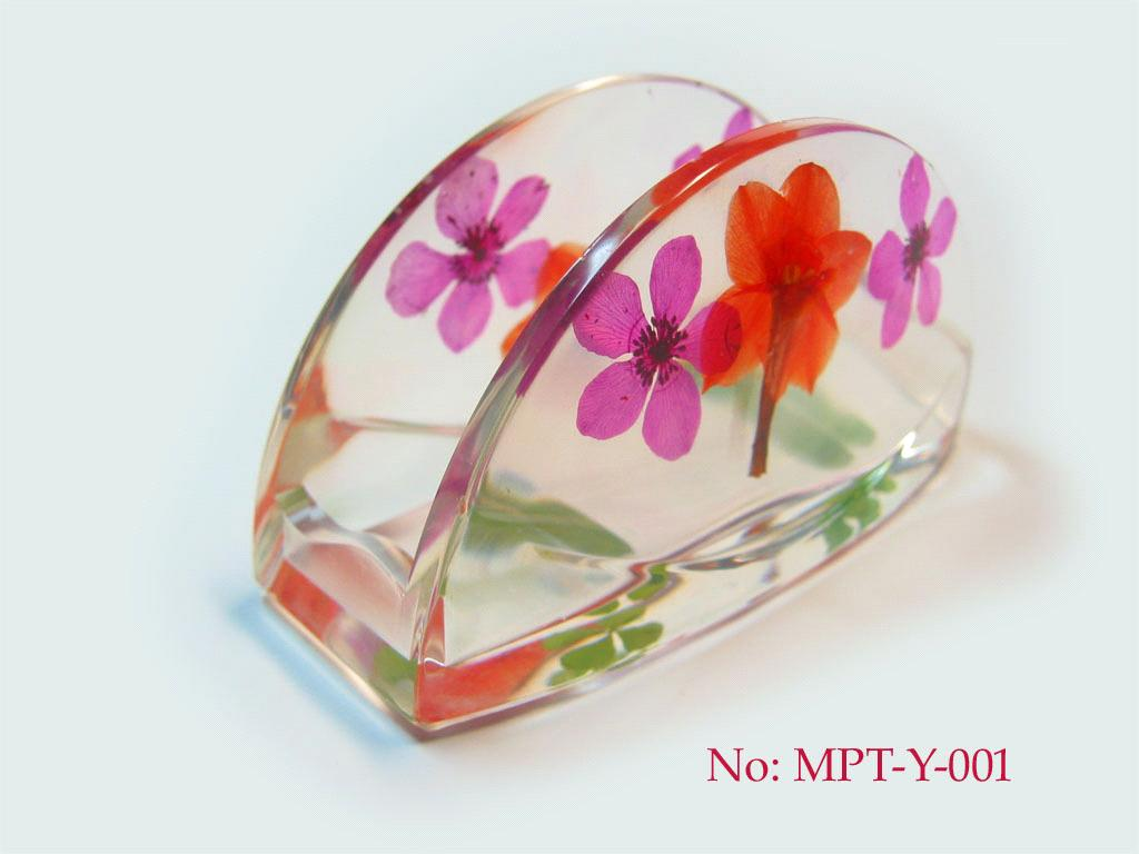 Handmade business card holder with dried flower mpt y 001 handmade business card holder with dried flower mpt y 001 colourmoves