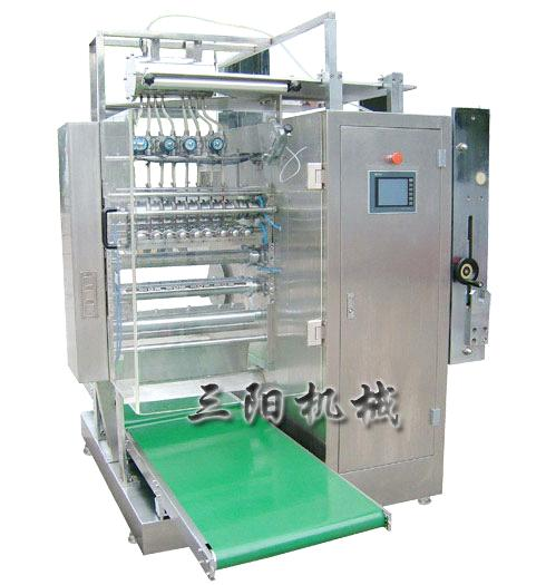 Liquid & Catsup Four Side Sealing & Multi-Line Packing Machine DXDO-Y900C