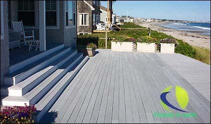 WPC, wood plastic composite, decking, railing, fencing