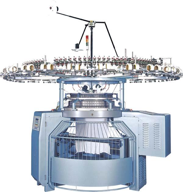 Tsu High Speed 4 Tracks Single Jersey Knitting Machine From China