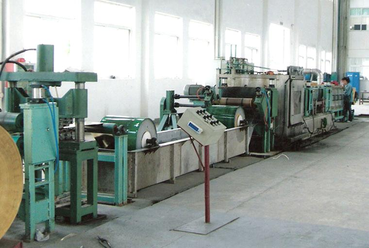 copper cleaning line