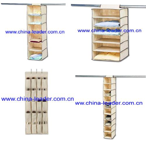 Non Woven Clothes Hanging Organizer,shoes Hanging Storage,clothes  Closet,shoes Rack,