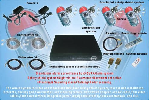 CCTV+ALL-IN-ONE ALARM SYSTEM SA-CCTV-T