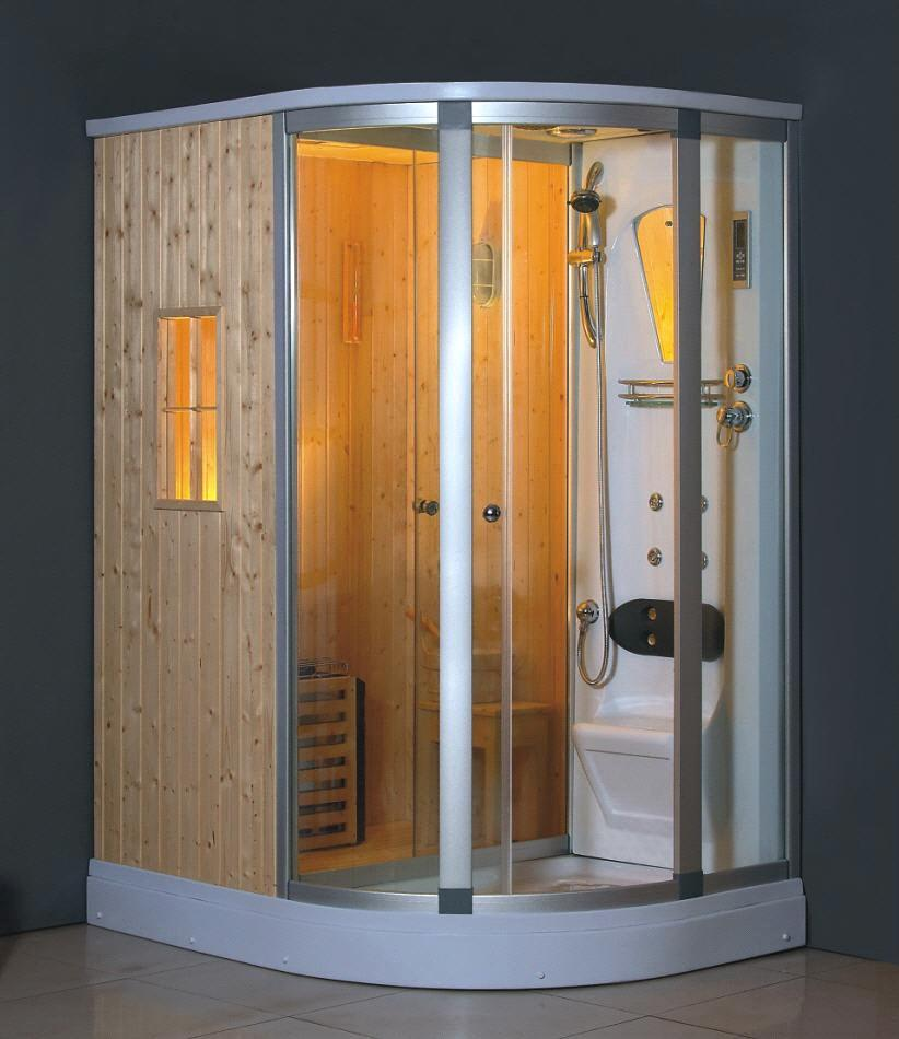 Bathroom Sauna Make A In Your Kits Floor Plan And Steam Room