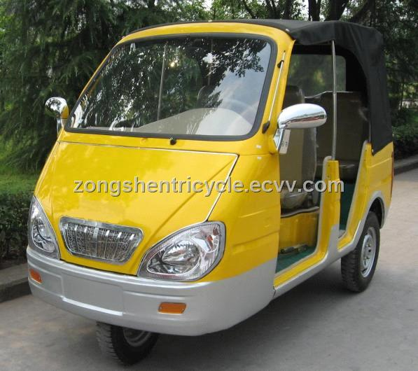 Motor Tricycle CNG / Petrol dual fuel, three wheeler