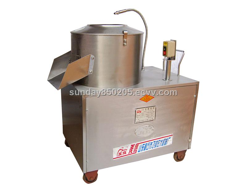 Potato Peelerstripperdehullerpiller Machine From China