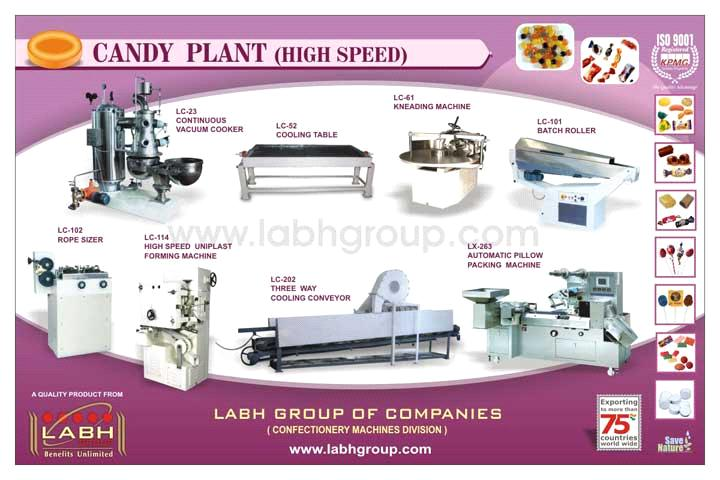 CANDY HIGH SPEED PLANT