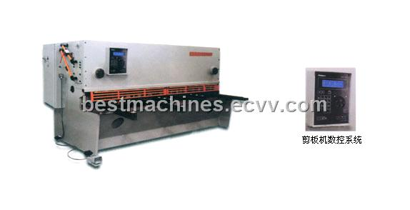 QC11Y (K) Series Hydraulic (CNC) Brake-type Plate Cutting Machine