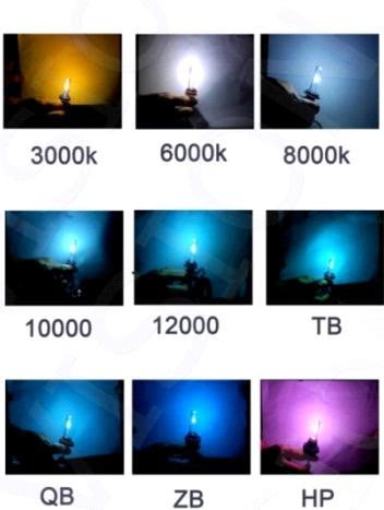 Special color HID Lamp(pink,blue,green,white,yellow,3000k-20000k)