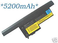 8C laptop battery for IBM Lenovo 40Y7003 X60 X61 X60s X61s 5200mAh