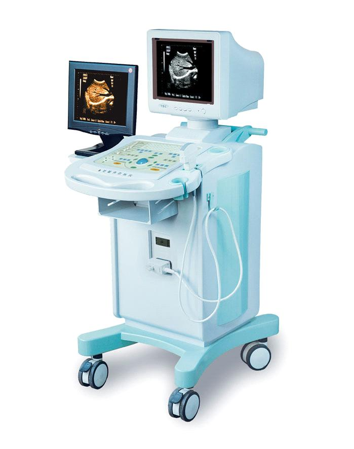 BYT-7700 dual screen trolley ultrasound screen ultrasound