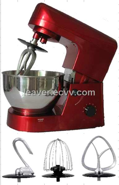 Stand Mixer with red sprayed color