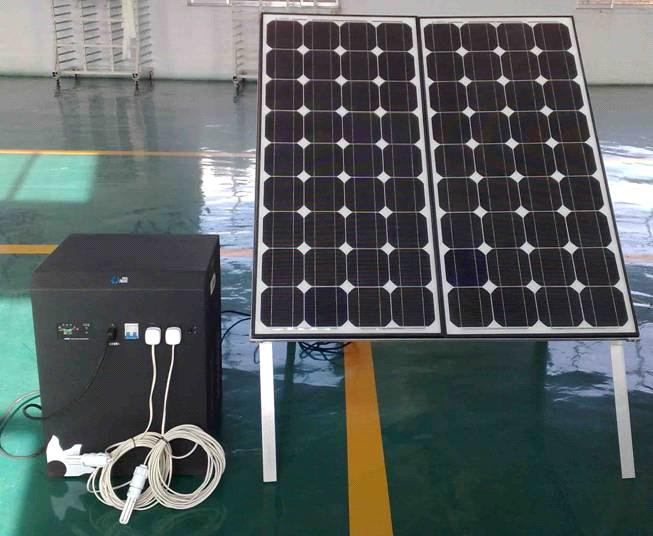 160w Solar Power Supply System