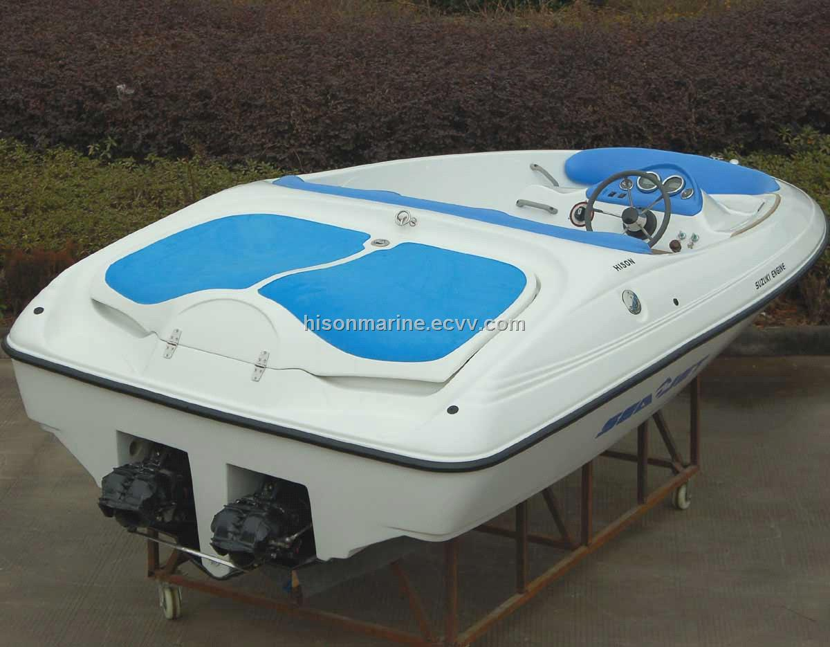 Jet Boat With Twin Suzuki Inboard Engines Hs 006j1